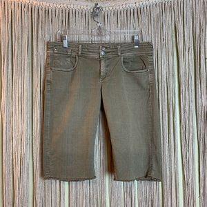 Anthropologie/ETT TWA Cut Off Denim Shorts size 29
